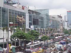 バンコク市内のデパート(セントラルワールドプラザ)